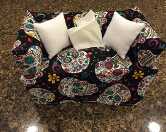 Day of the Dead Tissue Box Cover