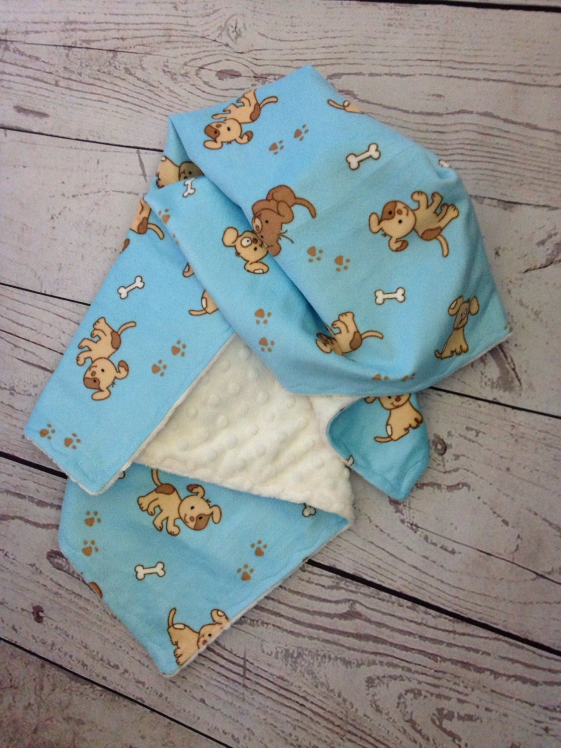 dog minky blanket with beige minky dot dog blanket pet