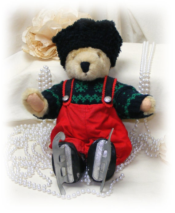 FUZZY VANDERBEAR (From The Skating Party Collection) . . 50% OFF . . new price below