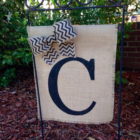 Personalized Garden Flag Wedding Gifts For Couple Burlap