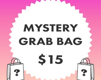 MYSTERY GRAB BAG – Stamps - Papercraft Only! - Up to 60% Off