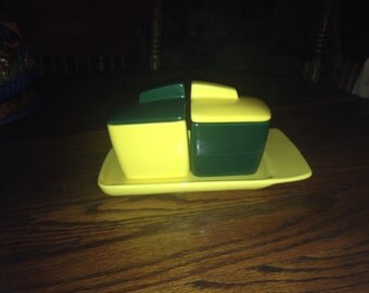 Vintage Franciscan Toastmaster Jam Set With Toast Plate