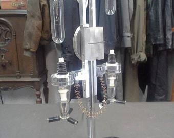 Steampunk sci fi mad scientist lamp