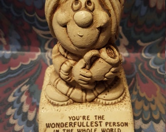 """Paula Figurine """"You're the Wonderfullest Person in the Whole World"""" 1973 W.356"""
