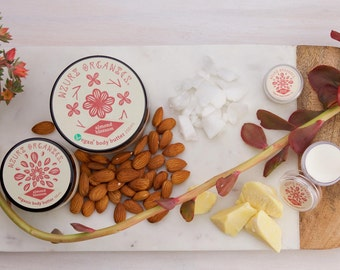 Organic & Vegan Almond Blossom Body Butter - Handmade