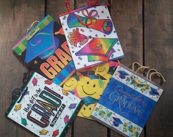 Graduation Gift Bag Assortment - 10 High Quality Gift Bags
