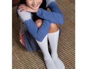 Vintage Knee Socks Knitting Pattern Download 803040