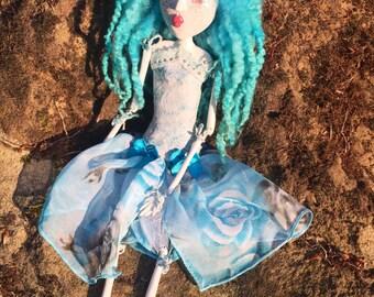 Ooak sweet pretty art doll