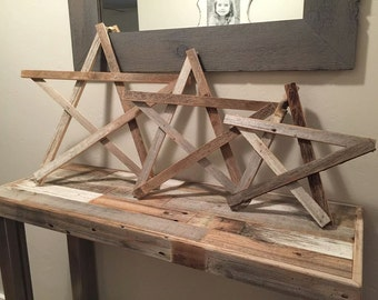 Reclaimed Wood stars