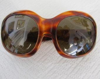 Vintage Tortoise Shell Large FRENCH Sunglasses
