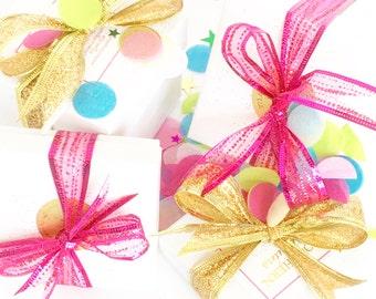 Southern Sequins Platinum Gift Wrap Option