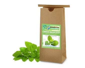 Lemon Balm Leaves (100% Organic, 1lbs.)