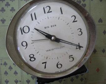 Vintage Westclox Big Ben Alarm Clock 1960's