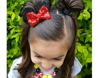 Itty-bitty Minnie Ears Clip