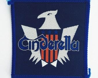 Cinderella • vintage woven patch