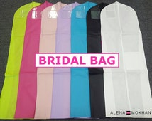 Breathable Wedding Gown Prom Dress Garment Bag Extra Long - U Pick Color