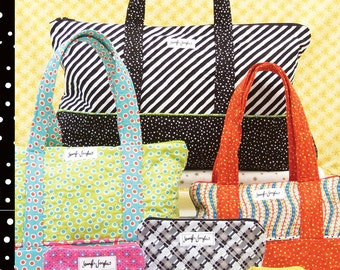Quilted Bags for Everything by Jennifer Jangles