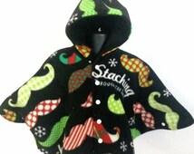 Baby Shower Gift - Infant Car Seat Poncho - Baby Car Seat Poncho - Toddler Car Seat Poncho - Hooded Car Seat Poncho - Christmas Poncho