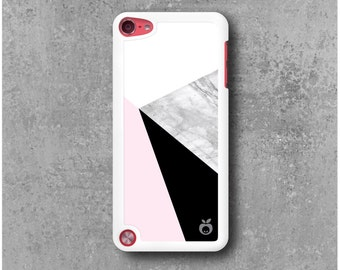 iPod Touch 5 case Triangles Geometrical Marble