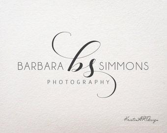 Initials logo, Photography logo and watermark design, Premade logo, Business logo, Black color logo, Modern logo, Stylish logo design 331
