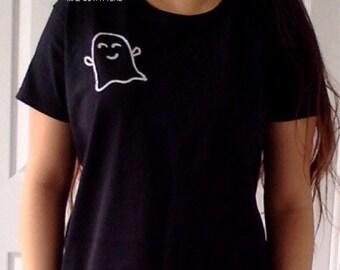 Happy Ghost T-Shirt  © Design by Maggie Liu
