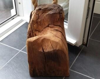 Driftwood Door Stop - with Rope Handle