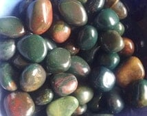 Bloodstone Crystals~Beautiful Blood Stone~Abundance~Prosperity~Wealth~Luck~Healer Stone~Base-Heart-Chakras~Attraction Stone~Moongoddesscharm