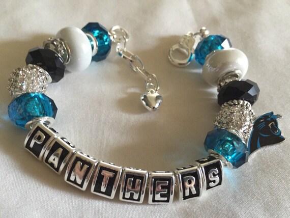 north carolina panthers panthers jewelry bracelets inspired. Black Bedroom Furniture Sets. Home Design Ideas