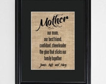 Mother's Framed Print                                      GC1289