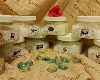 Premium hand scented bath salts