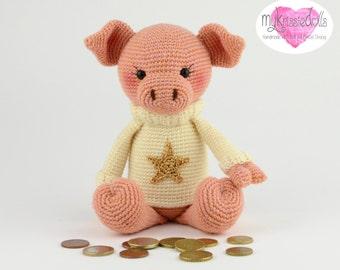 Crochet Pattern-My Little Savings Piggy