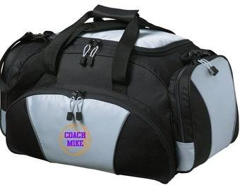 Basketball Gym Bag - Personalized - Monogrammed - Embroidered - Sports Bag - Sports Gift - Basketball Duffle Bag - BG91