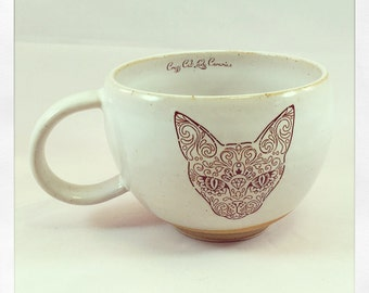 I am a Badass- tea cup
