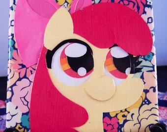 "Apple Bloom Papercraft Canvas 4"" x 4"""