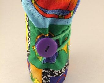 School themed crayon roll