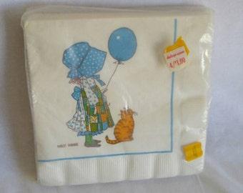 Holly Hobbie Napkins, Holly Hobbie Party Supplies, Holly Hobbie Paper Napkins, NOS