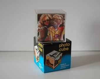 Photo cube Instamatic photos