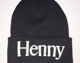 Henny beanie black