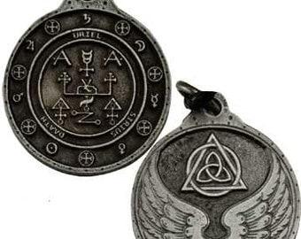 Uriel Archangel Amulet