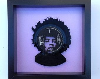 Jimi Hendrix 'The Wind Cries Mary' Vinyl Record Art