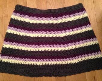 Striped Mini Skirt