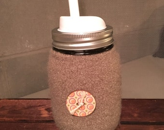 Mason jar insulated hot/cold drink cup... Makes a great gift!