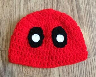 Deadpool hat, deadpool beanie, superhero hat