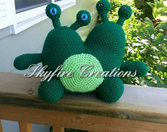 Large Two Headed Monster Plush