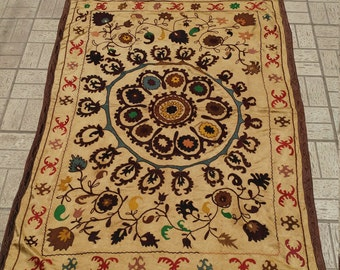 Vintage bukhara suzani for wall hanging fast shipping with fedex