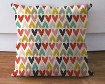 multicolor pillow covers,decorative throw pillow covers, outdoor indoor pillow covers, lumbar pillow covers, 16x16, 18x18, 20x20, 26x26 inch