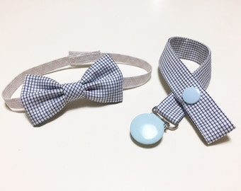 SET PAPILLON and Pacifier box in co-ordinated