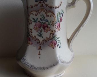 Vintage Ornate Floral Jug Shabby Chic