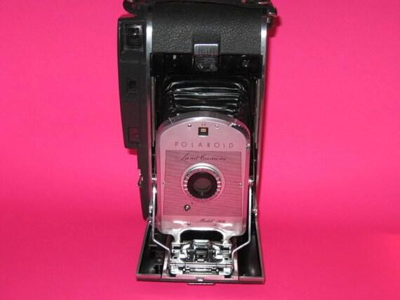 Vintage polaroid land cameras