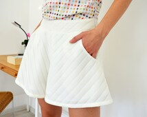Summer Overall,Colorful Overall,White Overall,Flared Pants,Sexy Top,Sexy Overall,Spring Overall,Sexy Shorts,White Shorts,ATTITUDE157 Top